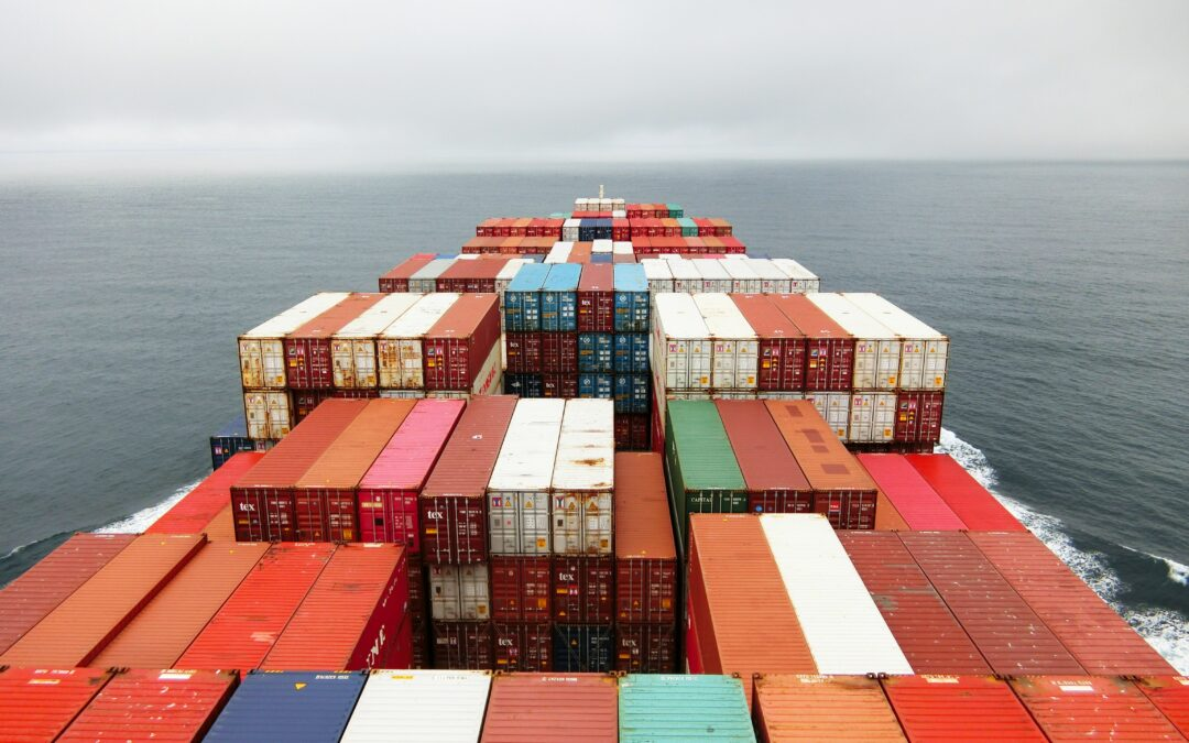 A record-breaking 44 container ships are stuck off the coast of California